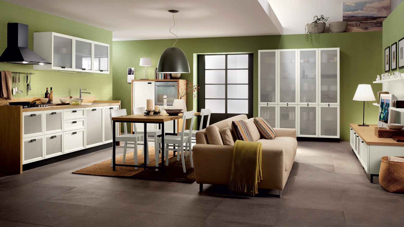 Cucine e living scavolini